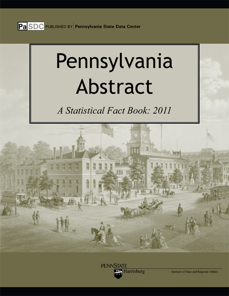Pennsylvania Statistical Abstract 2011 CD-ROM Edition